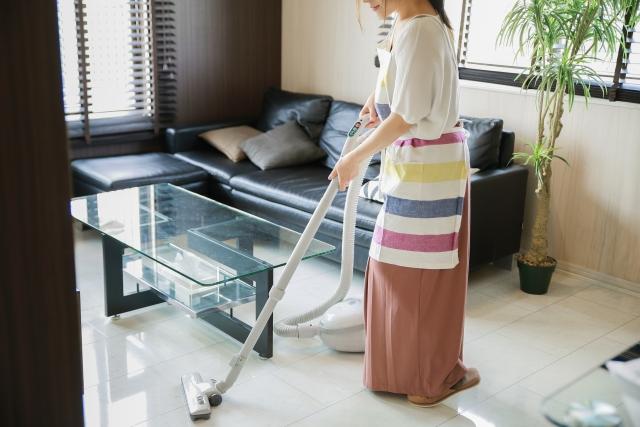 家事に勤しむ30代の独身女性