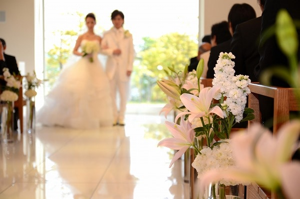 アラフォーの結婚式
