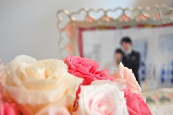 幸せな結婚を掴んだ女性のイメージ