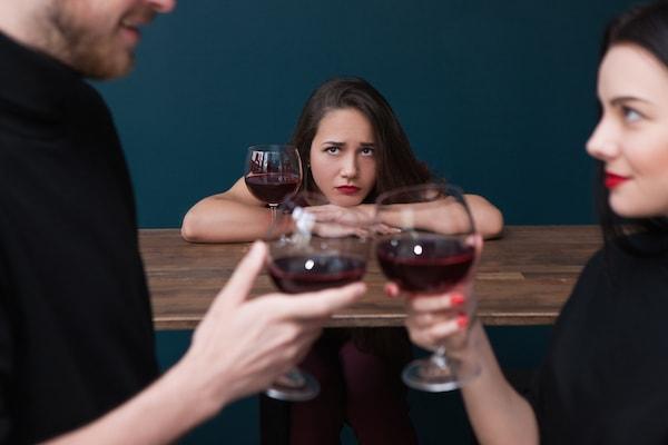 恋愛力が低い女性